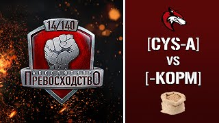 "Рота CT_! Турнир ""А.П. V"" 14/140 - CYS-A TM.2 vs. -K0PM"