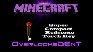 Super Compact Redstone Torch Key - Minecraft Xbox 360/PS3 - [Tutorial]