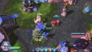 Heroes of the Storm Artanis Gameplay: ARTAN THE MAN!!