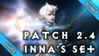 Diablo 3: Inna's Set Rework (PTR | Patch 2.4 | Overview | Gameplay)