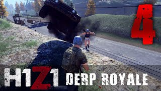 [4] Derp Royale (H1Z1 Early Access: Battle Royale w/ GaLm and The Derp Crew)