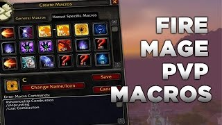 Fire Mage PvP Macros