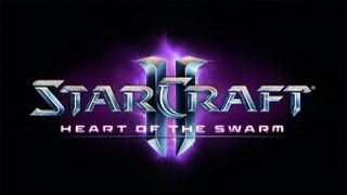 Starcraft 2 Heart of the Swarm Full HD beta pro-replay with new units(russian)