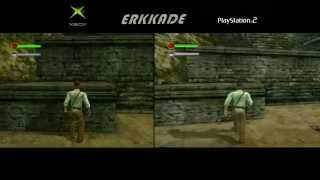 Indiana Jones and the Emperor's Tomb Comparison Xbox vs PS2