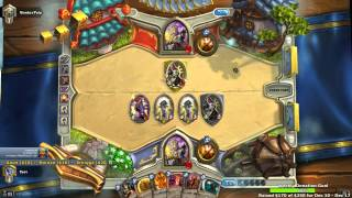 Craziest Hearthstone Game Ever (Round 5 Fatigue!)