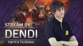 Dota 2 Stream: Na`Vi Dendi - Axe (Gameplay & Commentary)