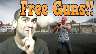 H1Z1 - Free Guns From Zombies
