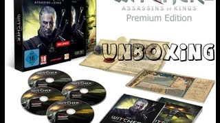 The Witcher 2: Assassins of Kings Premium Edition Unboxing/Распаковка (by almasmukh)