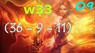 w33 Lina Ranked Gameplay Dota 2 | Pro Dota 2 Replays