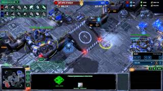 StarCraft 2 - Heart of the Swarm - qxc vs [dFall