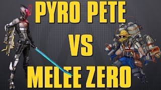 Borderlands 2 OP 8 Pyro Pete VS Melee Zero