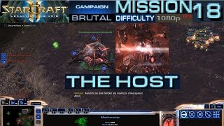 Starcraft 2 Legacy of The Void Campaign Mission 18 The Host Brutal Difficulty HD 1080p