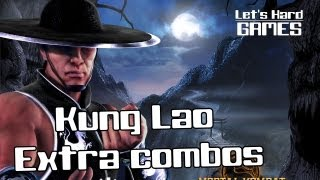 Mortal Kombat 9 | Strategy Guide [Стратегия боя - Гайд] - Extra Combos Kung Lao [PC]