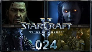"Let's Play ""StarCraft 2 - Wings of Liberty"" - #024 - ""Alles oder Nichts"" [Deutsch/HD]"