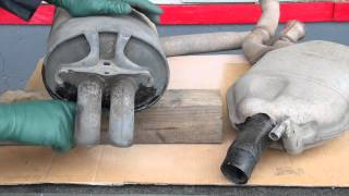 How to Patch Small Rust Holes in Muffers and Rear Exhaust Pipes