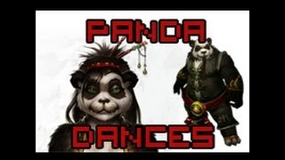 WoW Female and Male Pandaren Race Dances [With Origin of Dance]