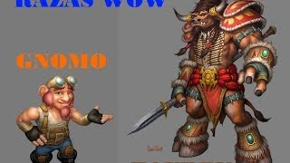 "Elegir raza en World of Warcraft ""WoW"" (Parte 3 Gnomos y tauren)"