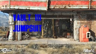 New Vault 111 Jumpsuit Location - Fallout 4 Gameplay