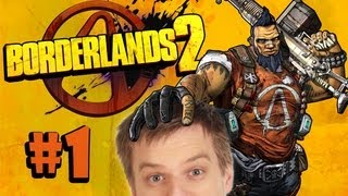 Borderlands 2 with Totalbiscuit, Jesse Cox, and Husky! - Episode 1