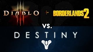 "Destiny vs. Diablo 3, Borderlands 2: Why Destiny Will Succeed as a ""Dungeon Crawler"""