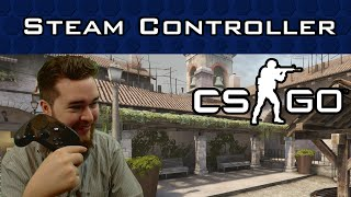 Steam Controller in Counter-Strike (Analog Stick Mode First Impressions)