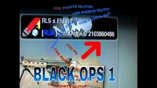 CALL OF DUTY BLACK OPS 1 COD POINTS GLITCH