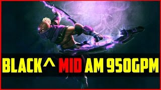 TT.Black^ Mid Anti Mage 950GPM 20/2/8 | Dota 2 Gameplay