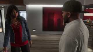 "Grand Theft Auto V - Lamar Down: Tanisha Marks Visits Franklin Clinton ""You Ain't Changing"" Cutscene"