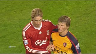 Liverpool vs Arsenal 4-4 - EPL 2008/2009 - All Golas & Full Highlights HD