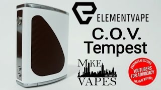 Council of Vapor Tempest 200W TC Box Mod - Mike Vapes
