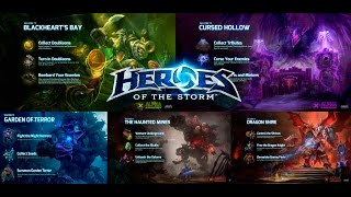 Heroes of the Storm: описание карт