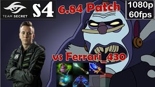 s4 (Secret) - Witch Doctor Safelane Pro Gameplay | vs Ferrari_430 | MMR @60fps