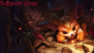 League of Legends Support Gnar Full Game Commentary