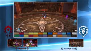 World of Warcraft Live Raid - Method vs Midwinter - Blizzcon 2013 HD