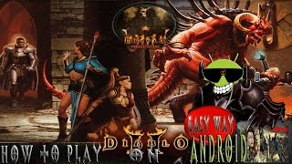 How to Play Diablo 2 LOD on Android with ExaGear RPG(Easy Way)
