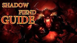 Dota 2 Guide Shadow Fiend - Гайд на СФа (patch v6.82)