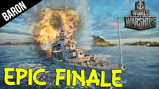 EPIC Finale!  World of Warships Gameplay