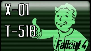 X-01/T-51b Power Armor Location - Fallout 4 Gameplay