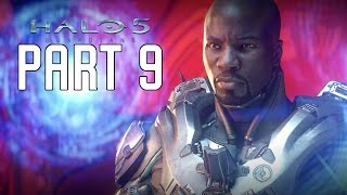 Halo 5 Guardians Walkthrough Part 9 - Mission 9 & 10 | Alliance & Enemy Lines