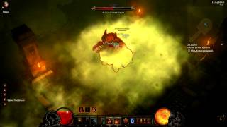 Diablo 3 Inferno 4.7k hp Barbarian vs Ghom (w/o kite and overpower) 1.0.3