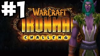 World of Warcraft (WoD) - The Iron Man Challenge Druid Leveling Part 1