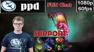 ppd (EG) - Dazzle Support Pro Gameplay Dota 2 | Offlane Fun Chat | MMR @60fps