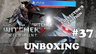 The Witcher 3: Wild Hunt / Ведьмак 3: Дикая Охота - Collector's Edition (PS4) - Unboxing #37