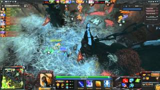 Dota 2.Shadow Shaman(ability draft)-over 9000x rampage