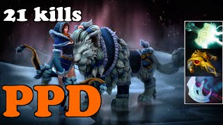 Dota 2 Highlights - PPD  Plays Mirana - Ranked Gameplay