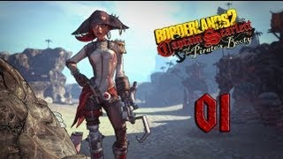 Borderlands 2: Captain Scarlett and her Pirate's Booty