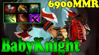 Dota 2 - Babyknight 6900 MMR Plays Bloodseeker Vol 2 - Ranked Match Gameplay!