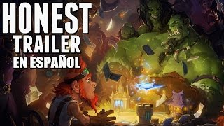 HEARTHSTONE (Honest Game Trailers en Espa