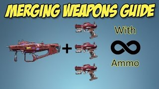 Borderlands 2: How to merge weapons and infinite ammo (still works) Xbox One