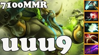 Dota 2 - uuu9 7100 MMR Plays Nature's Prophet - Pub Match Gameplay